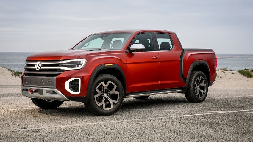 Will Volkswagen Create A Pickup Truck For The Us Market Pickup Trucks Vw Pickup Truck Volkswagen