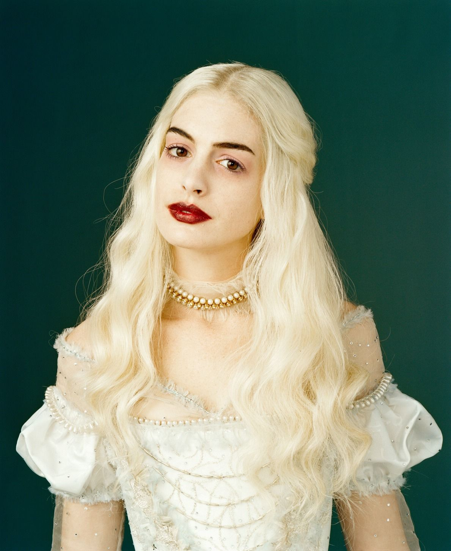 ALICE IN WONDERLAND No podían ser menos los maquillajes en una peli del  genial Tim Burton 49fd236d142