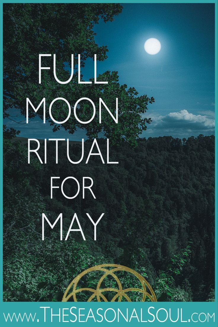 Inspire Deep Personal Growth this Spring with this Full Moon Ritual