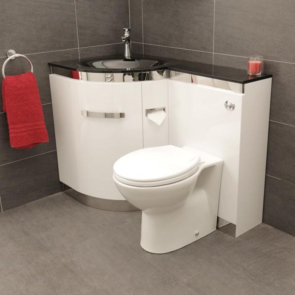 компактное решение унитаз раковина Bathroom Sink Units Small Toilet Room Small Bathroom
