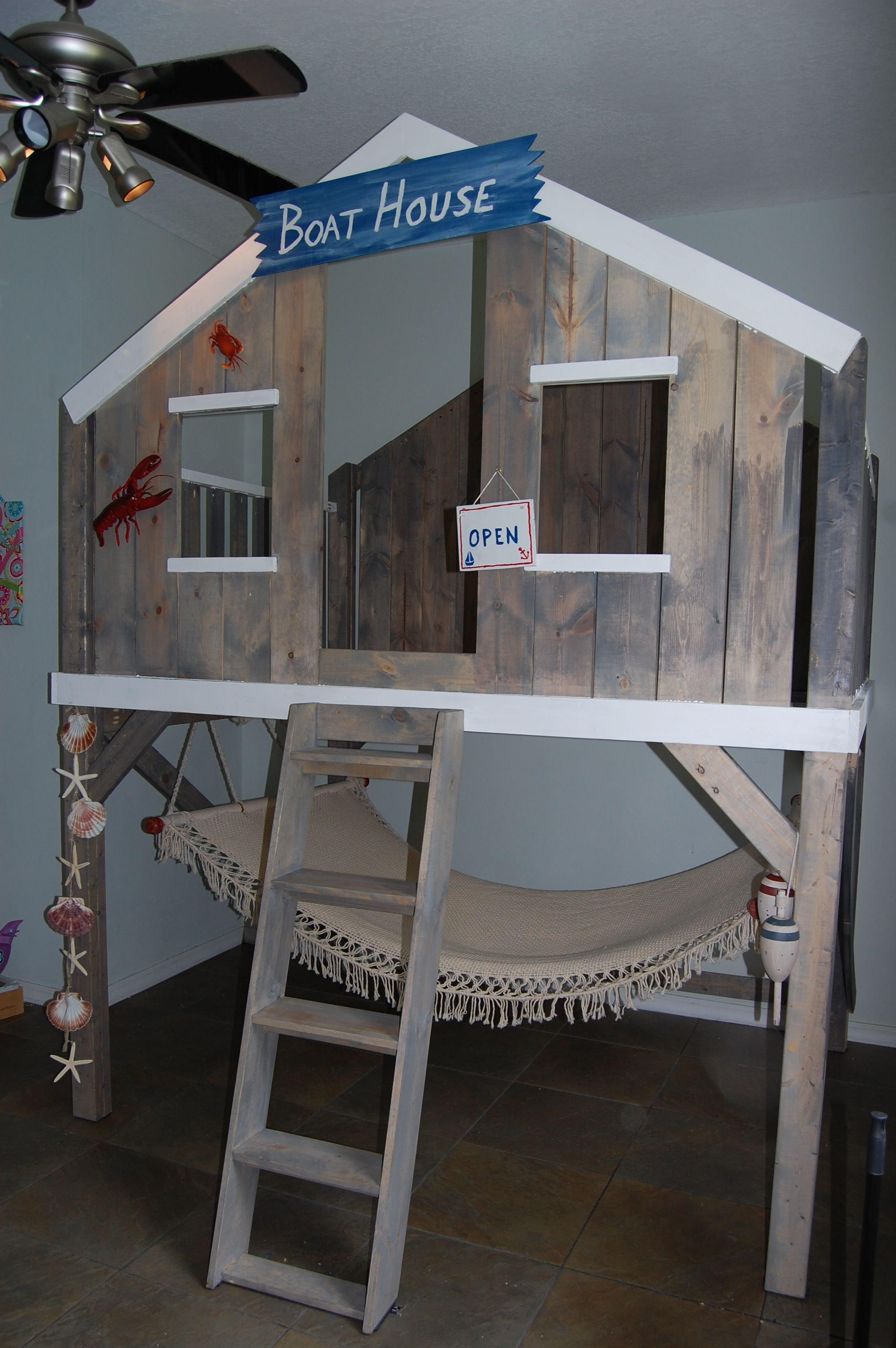 Jacksonville Florida Children S Furniture Custom Made Beds And Designs Bunk Bed Loft Themed Boys Kids Beach Hut