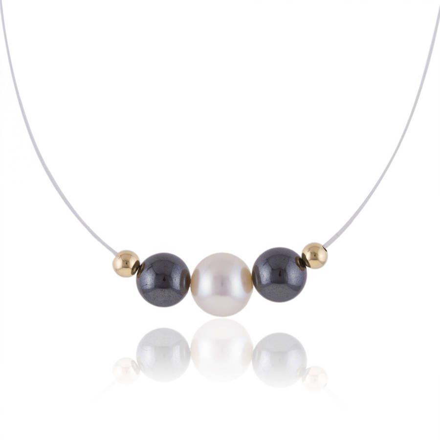 collier perle de culture manège à bijoux
