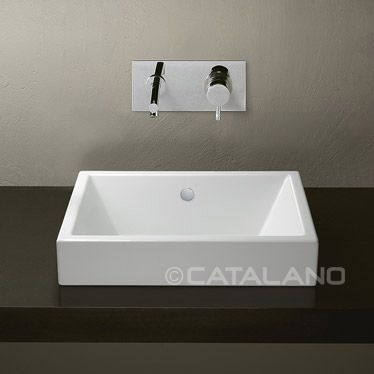 Catalano Verso Trentasette 50 X 37 As A Sit On Basin Also
