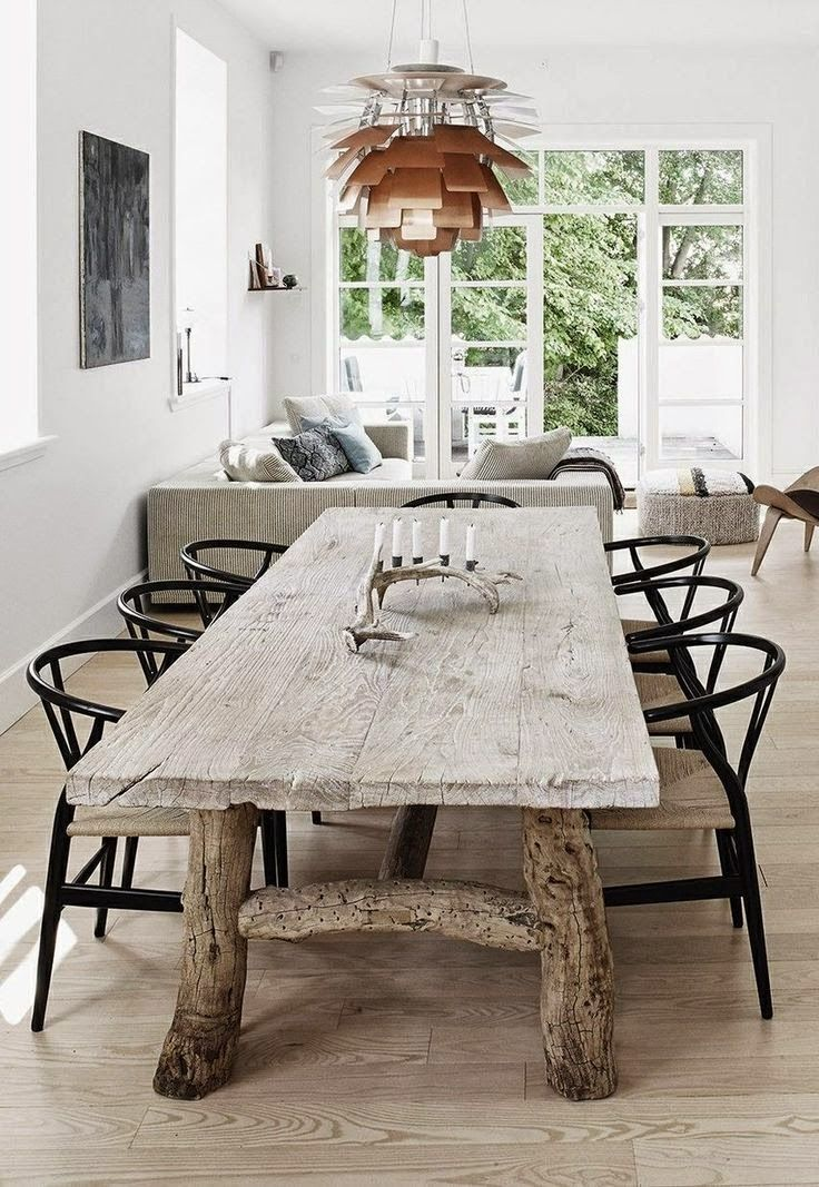 Wishbone Chairs | For the Home | Pinterest | Comedores rústicos ...