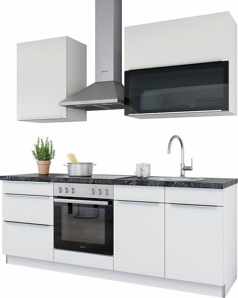 set one by Musterring Küchenzeile »Palermo« ohne E-Geräte, Breite - esszimmer mobel musterring