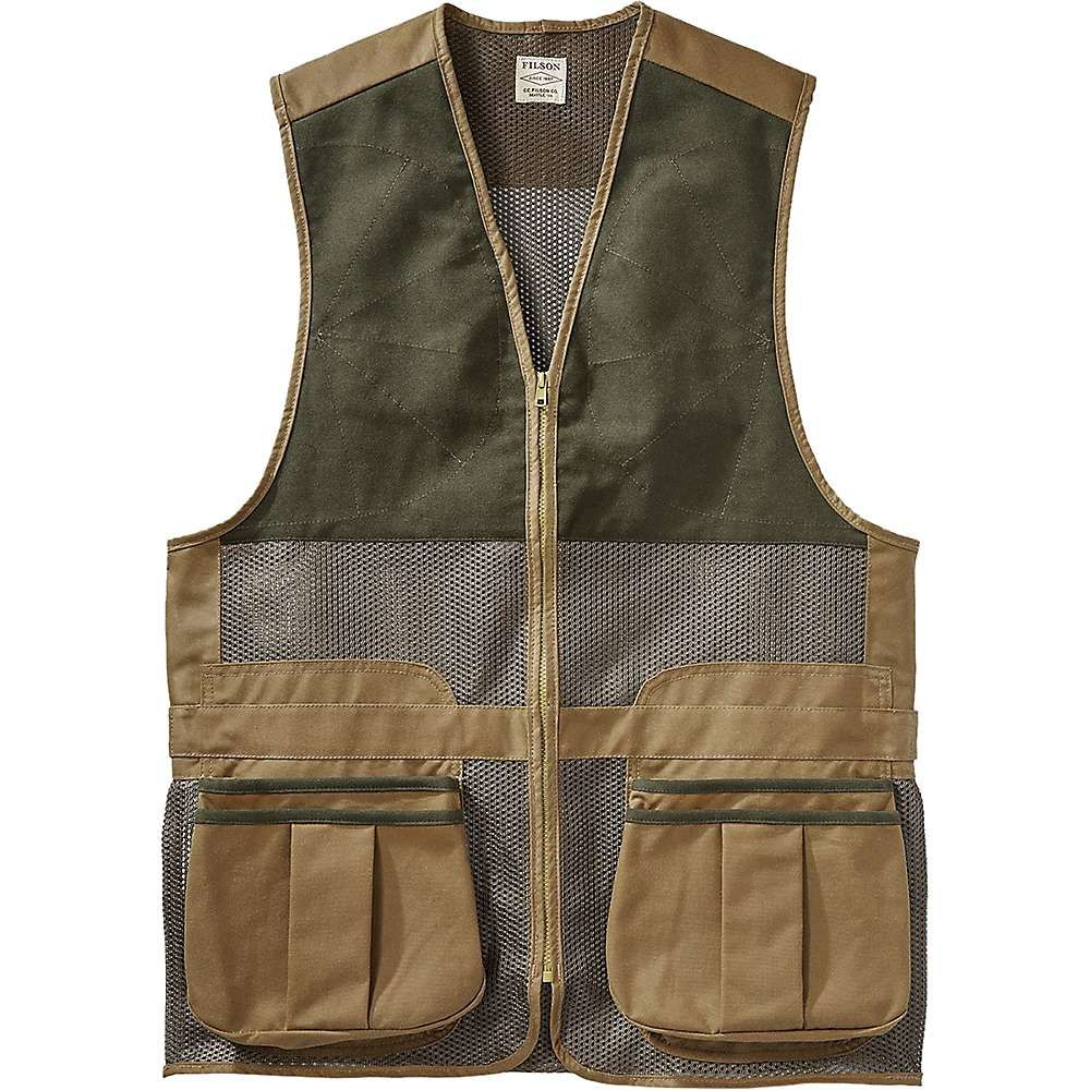 Filson Men's Light Shooting Vest Moosejaw in 2020 Vest