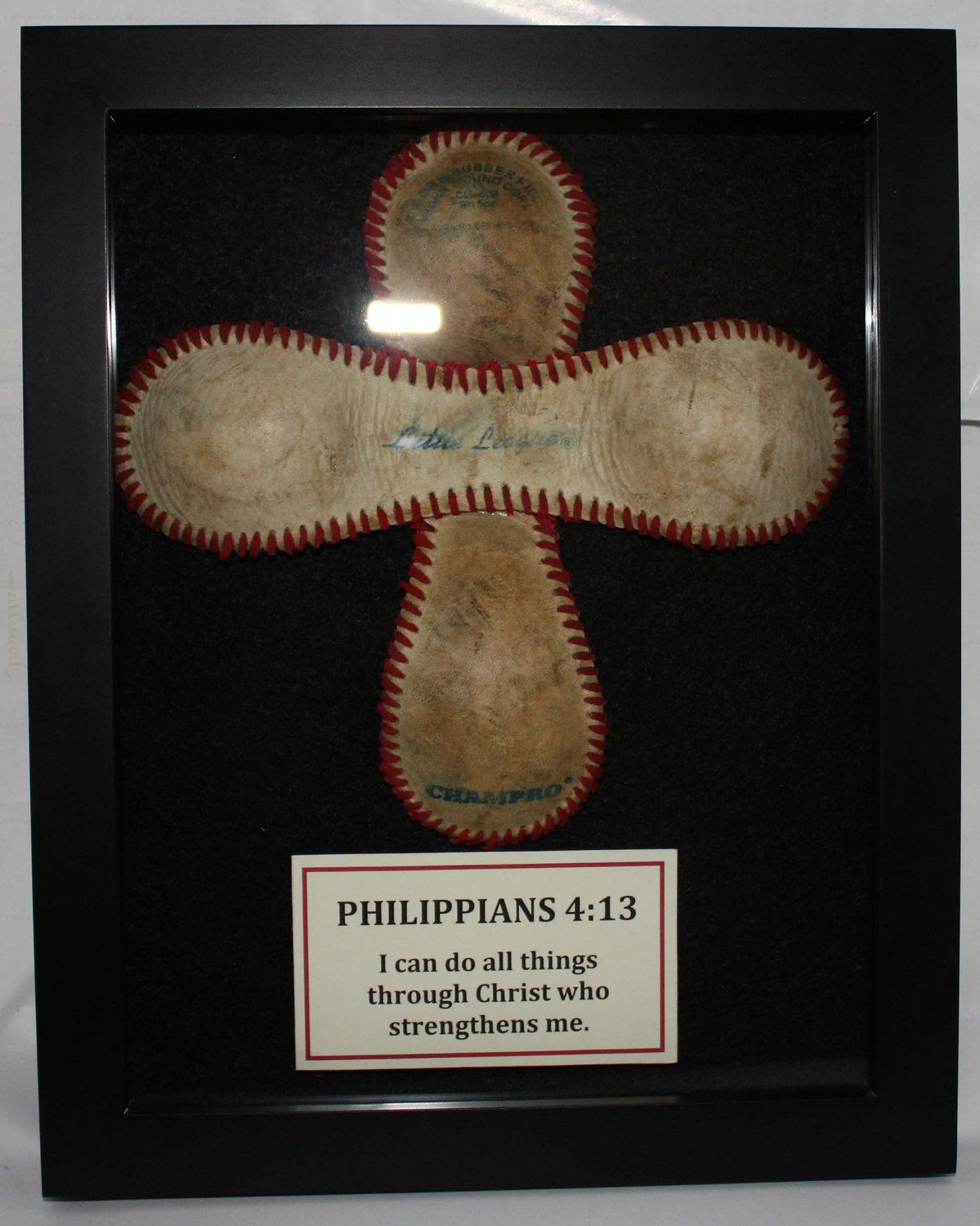 baseball cross for little boy's room