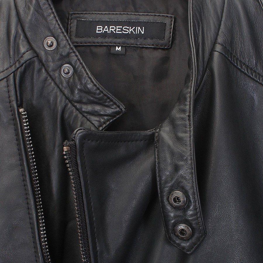Price Rs.11,999/- Buy #Black Mens #LeatherJacket Online at Voganow ...