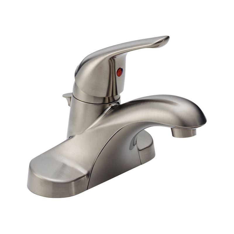 b510lfssppu foundations single handle centerset lavatory faucet bath products delta faucet