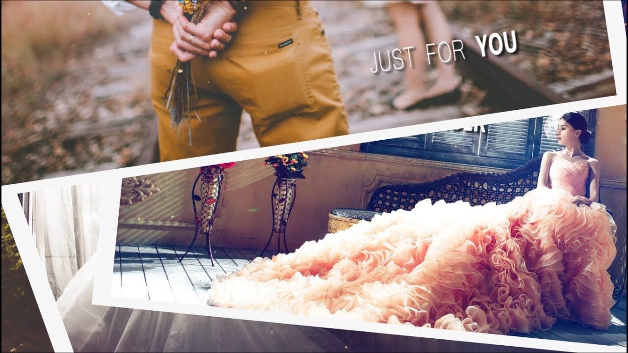 Free Template Wedding Slideshow Romantic Love 100 Free For Adobe Premiere Cs5 5 Cs6 Cc Youtube Desain