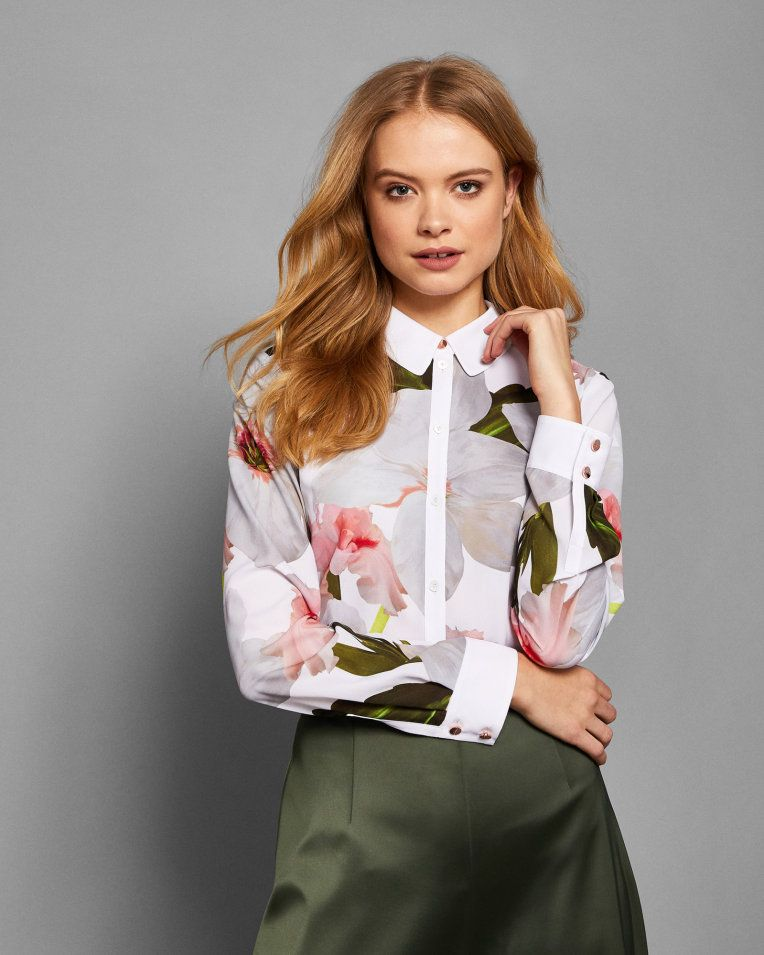 336ba082b Chatsworth Bloom shirt - White