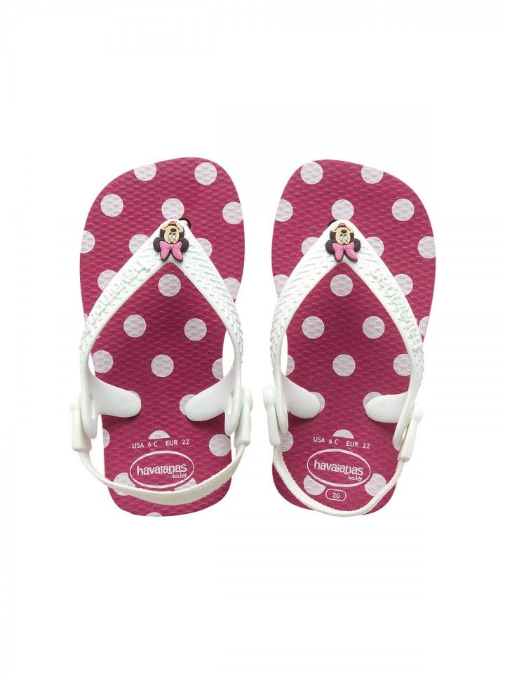 12f2fd25bb8 Havaianas Baby Disney Classic Super Pink