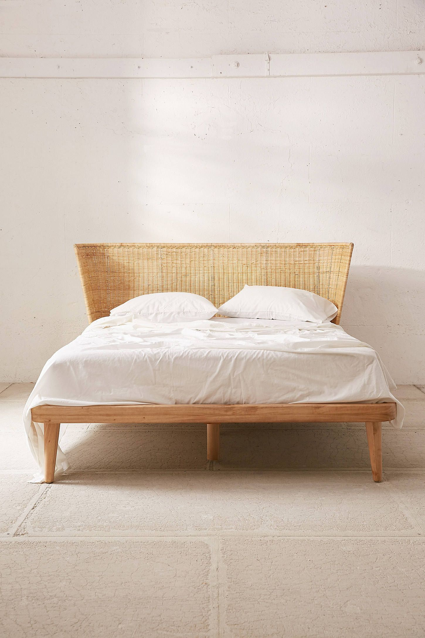 Shop Jens Woven Windsor Platform Bed At Urban Outfitters Today We
