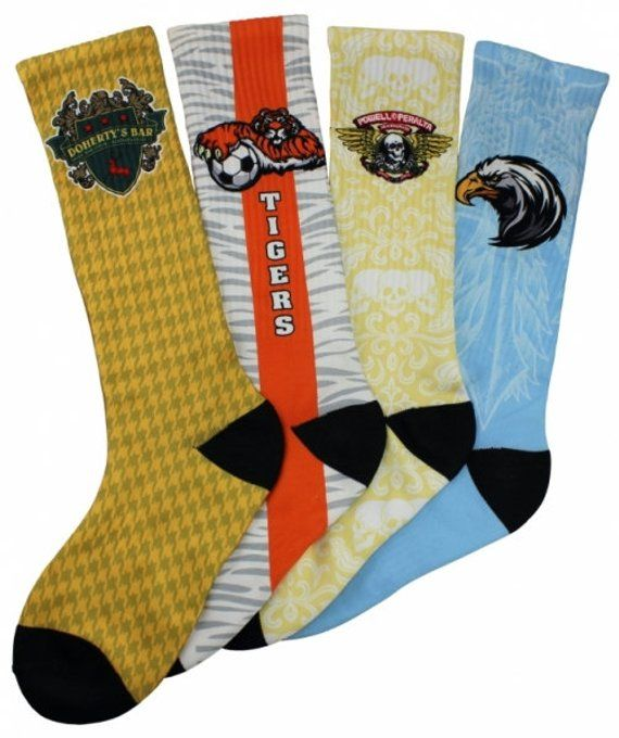 433653f4a08f 12 Personalized Custom Socks