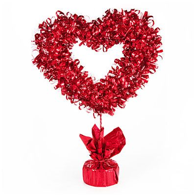 Tinsel Tabletop Valentine S Day Heart Valentines Day Hearts Tinsel Big Lots