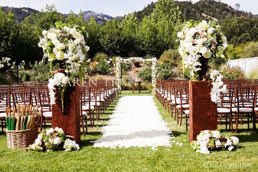 Solage Calistoga Wedding Pretty