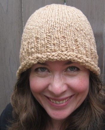 Asymmetrical Cloche - a free pattern | Knitting | Pinterest