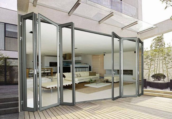 Glass Accordion Doors Door Designs Plans Door Design Plans