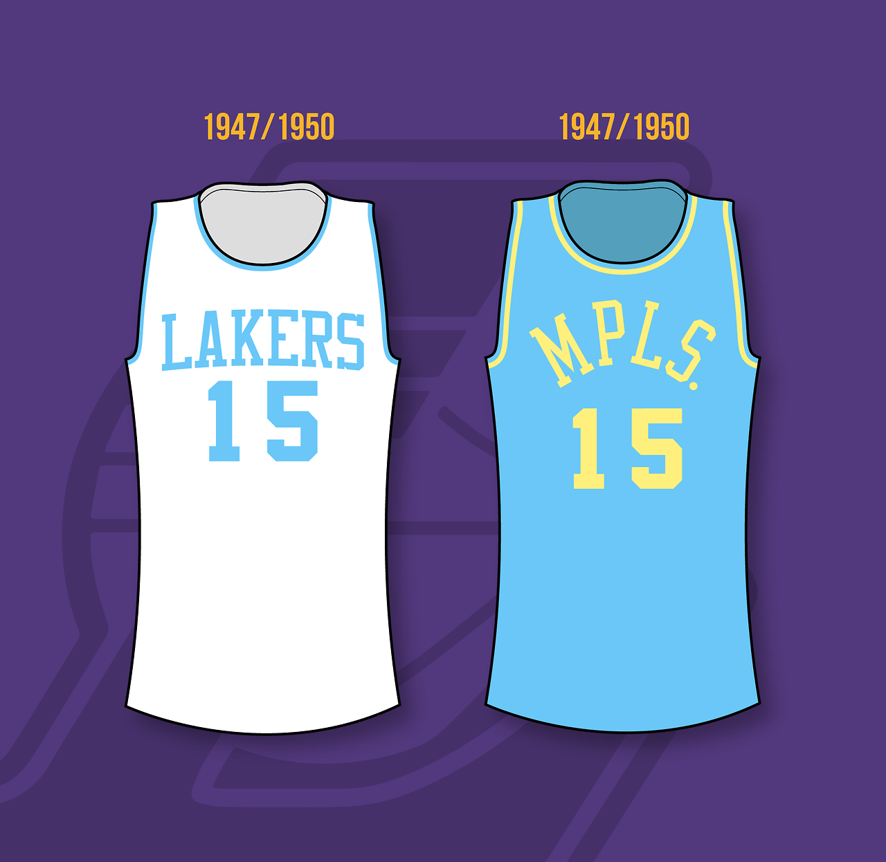 Minneapolis Lakers 1947 1960 Los Angeles Lakers 1960 2002 Best Basketball Shoes Xavier Basketball Nba Uniforms