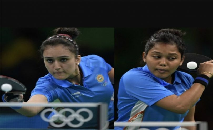 India S Tt Players Manika Batra 21 And Mouma Das 33 Have Created History By Becoming The First Indian Pa Tennis Championships Table Tennis Upcoming Matches