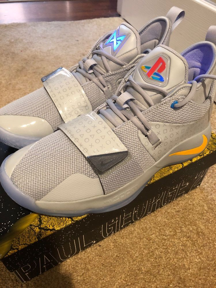 first rate 5bf28 ec8c5 Nike PG Paul George 2.5 Playstation Grey BQ8388-001 DS Size 10 IN HAND   fashion  clothing  shoes  accessories  mensshoes  athleticshoes (ebay link)
