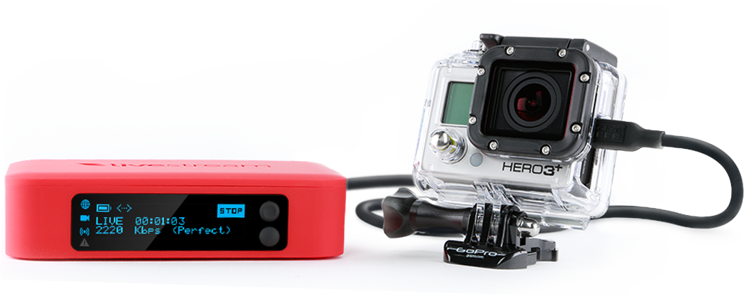 Livestream Broadcaster™ Stream HD Live Video without a