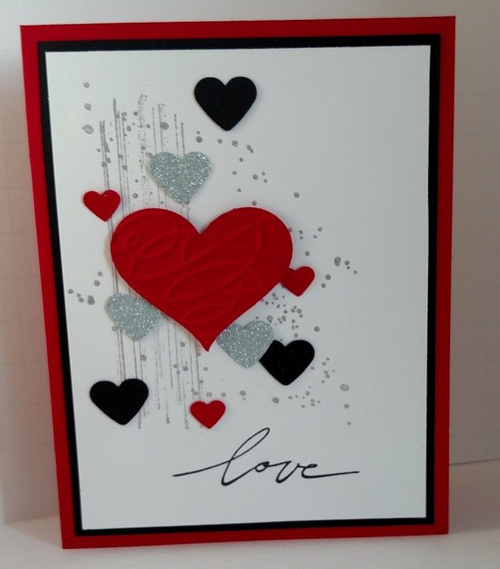 Valentine Love By Donnaks Cards And Paper Crafts At
