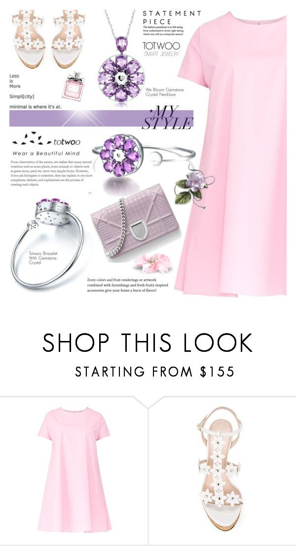 """""""Totwoo Smart Jewelry-2 (My style)"""" by cly88 ❤ liked on Polyvore featuring Maiocci, Oscar de la Renta and Christian Dior"""