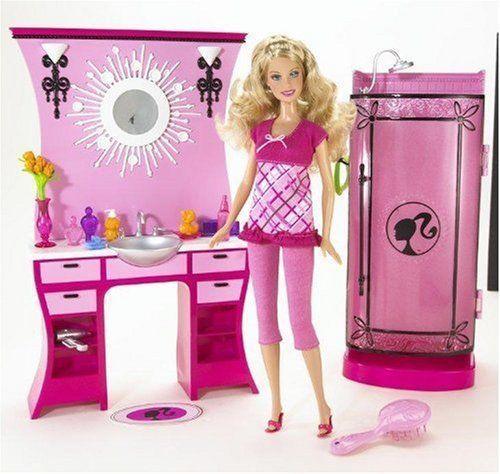 2009 Barbie Glam Bathroom Dream