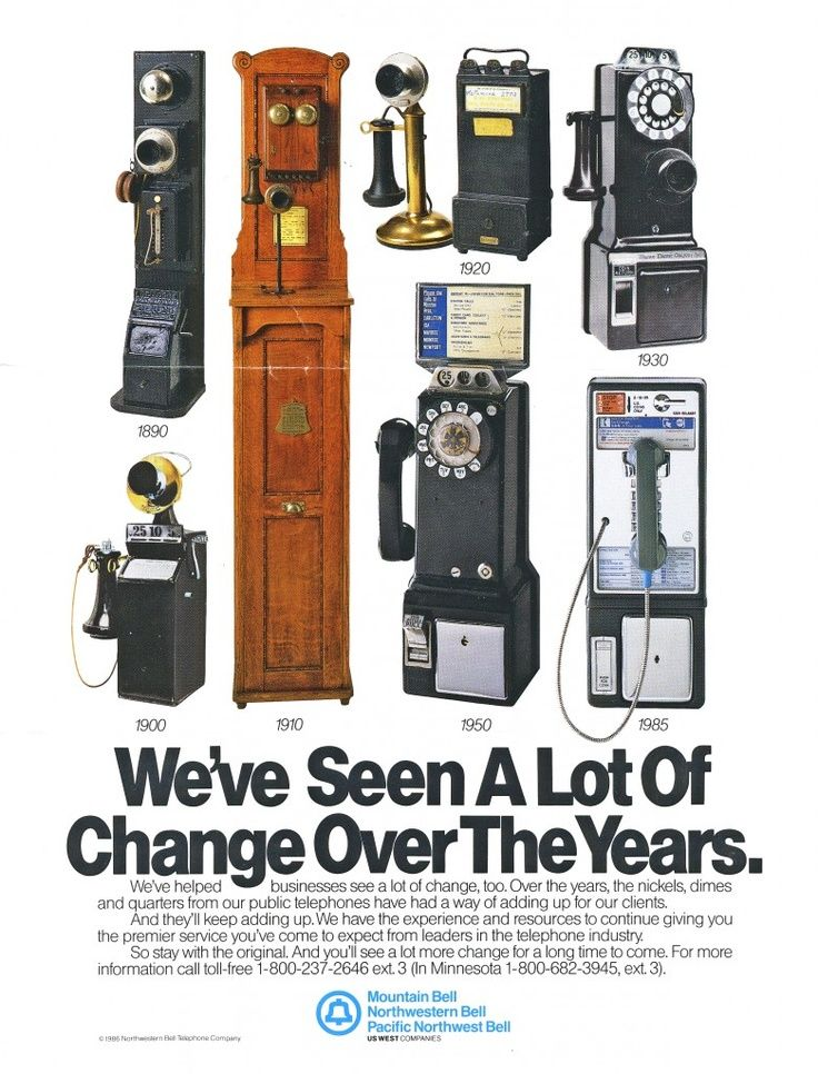 1985 Bell Telephone ad Telephones, Telephone, Pay phone