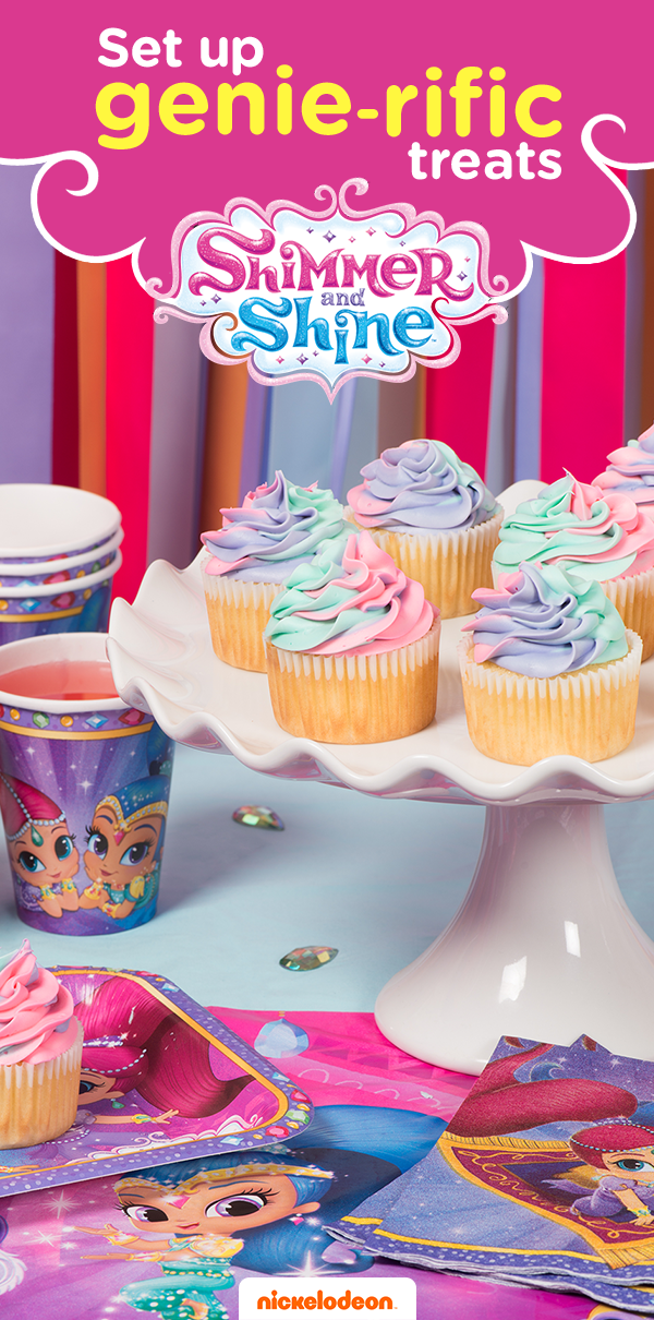 Grant your child's wish with a Shimmer and Shine themed party ...