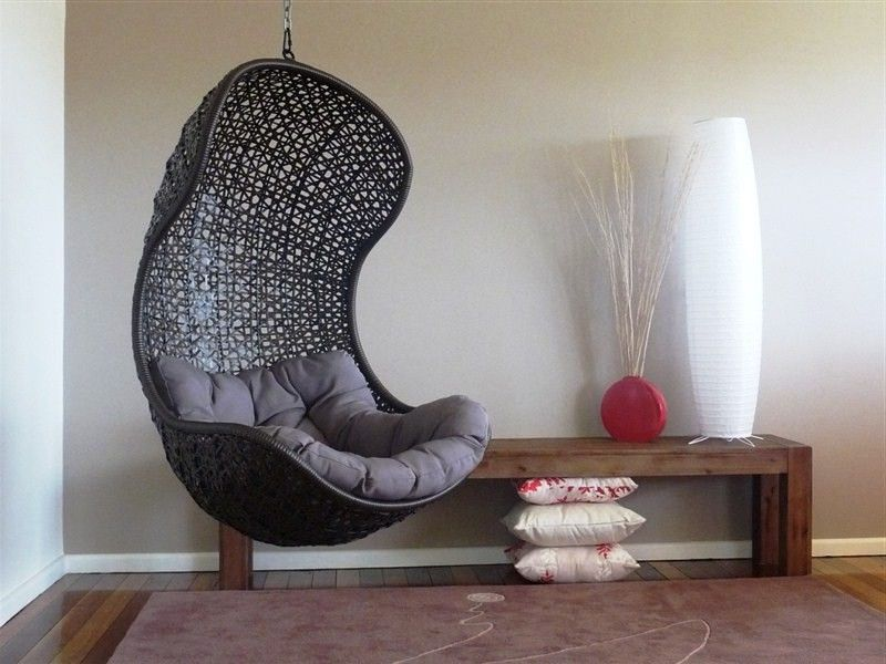 Get Multiple Function From Cool Hanging Chairs For Bedroom
