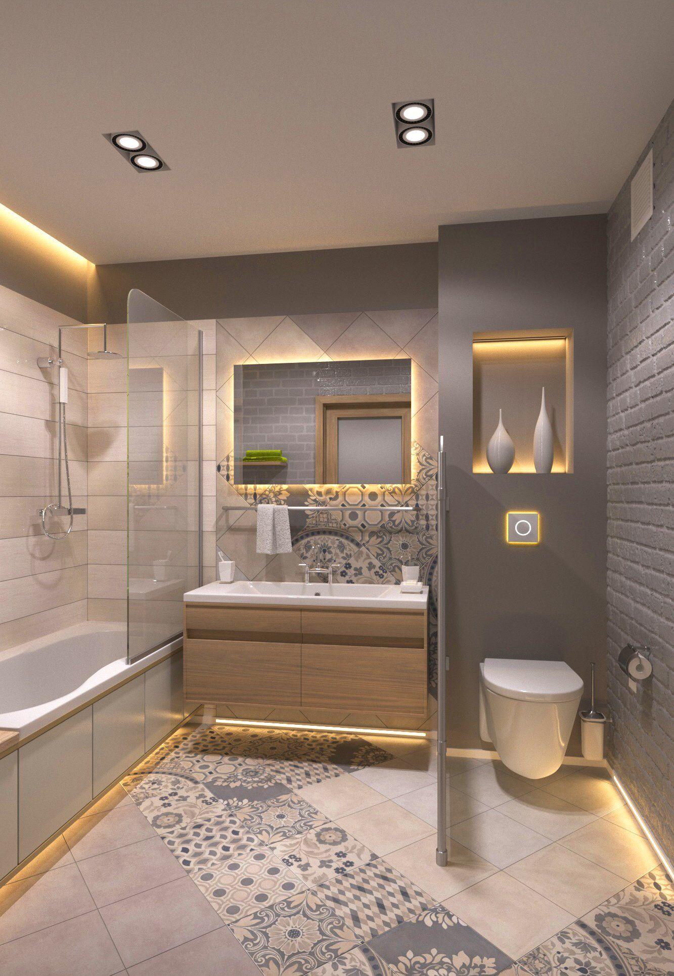 Nice Hall Bath Idea Ada Bathroom Современная ванная
