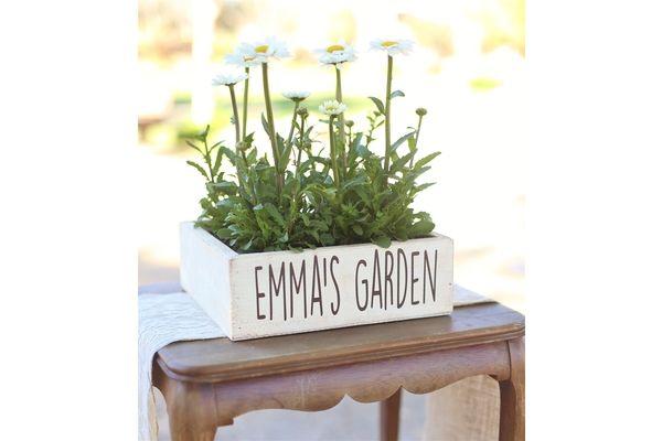 6/7 Personalized Planter Box
