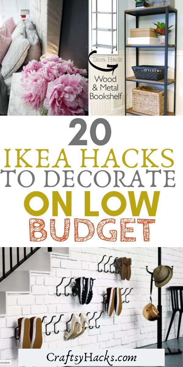 Photo of 20 Amazing Ikea Hacks to Decorate on a Lower Budget