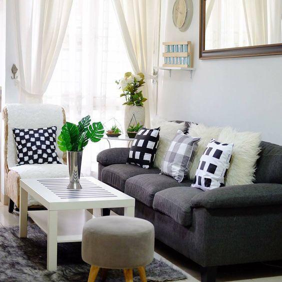 Ide Sofa Minimalis Untuk Mengisi Ruang Tamu Mungil Sofa Ruang Tamu Desain Interior Ruang Tamu Rumah