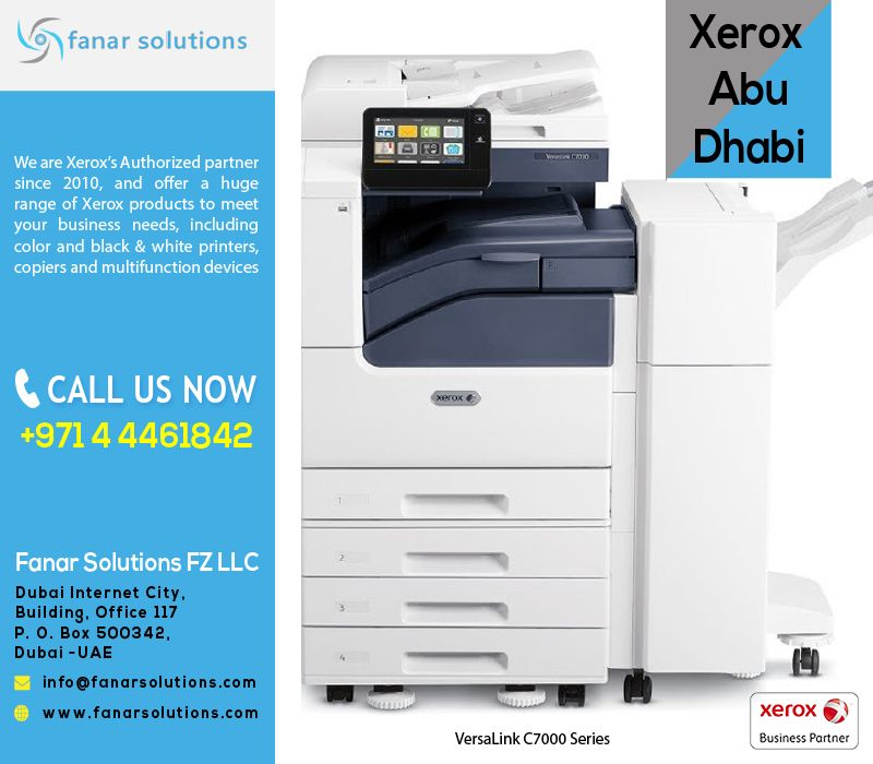 Fanar Solutions Is A Xerox Business Partners Since 2010 And Offer