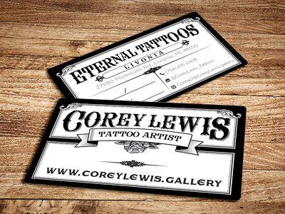 Tattoo Business Cards Tattoo Artist Business Cards Business Card Inspiration Printing Business Cards