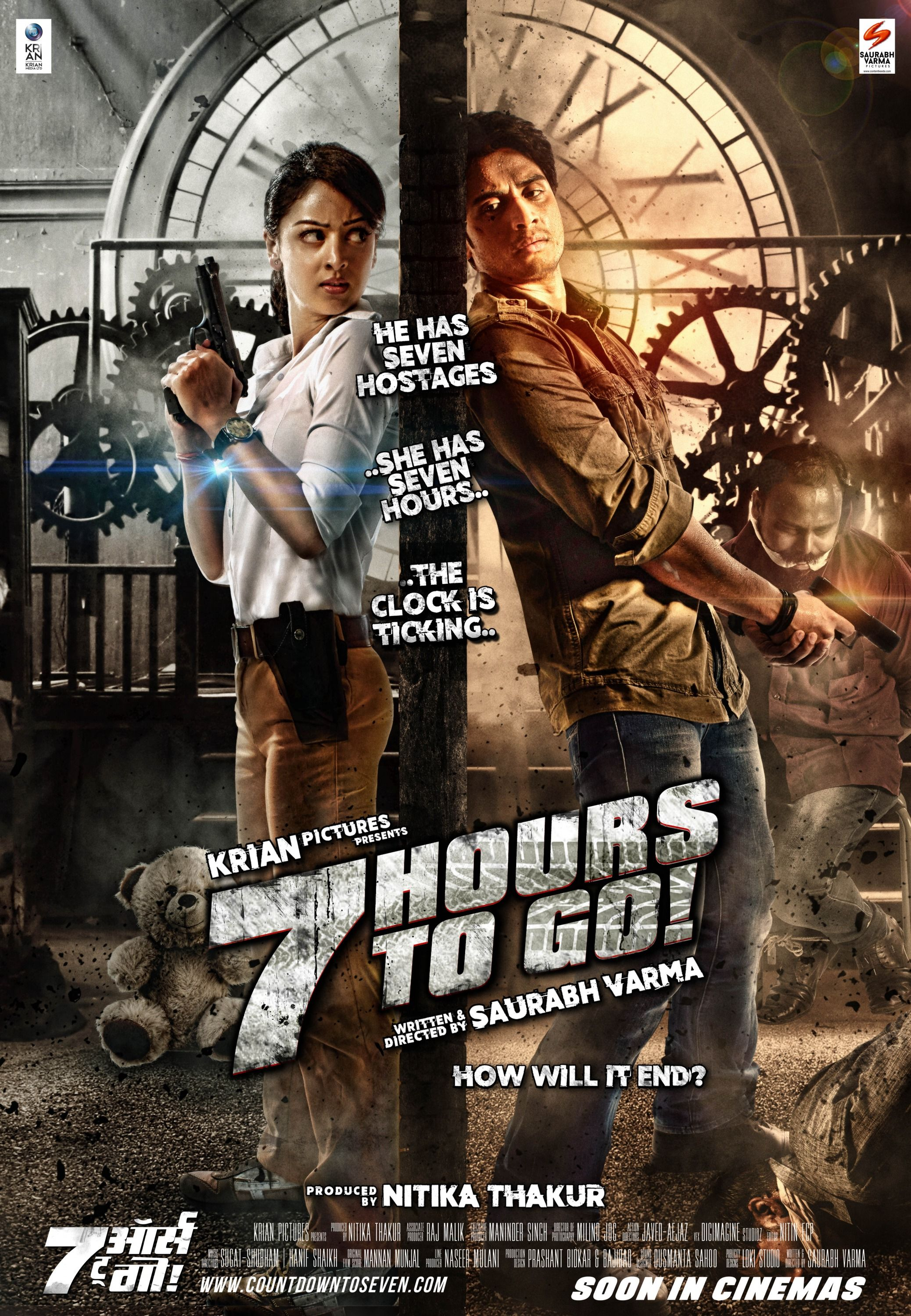 7 Hours To Go - Action Movie 2016