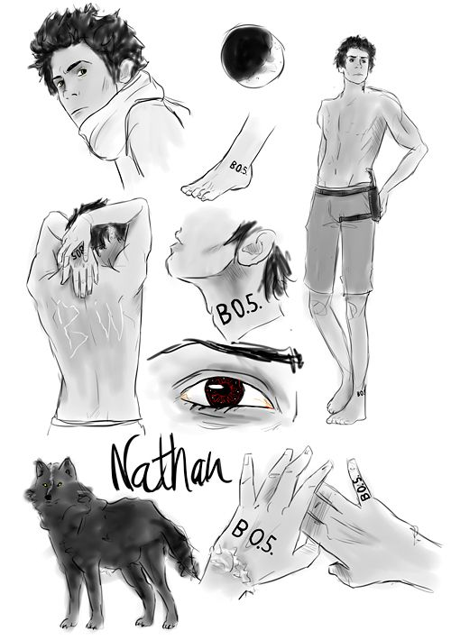 nathan x gabriel half bad - Google Search