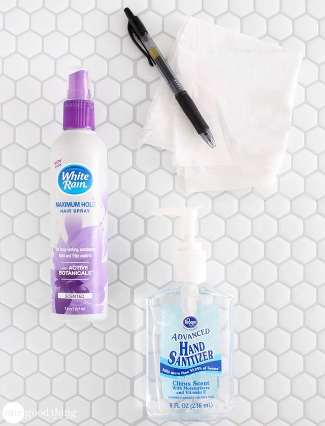 How To Remove Ink Stains From Clothing With No Effort One Good