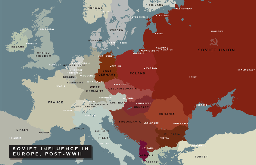 Where Is Eastern Europe And What Countries Are In It Istoriya Karta