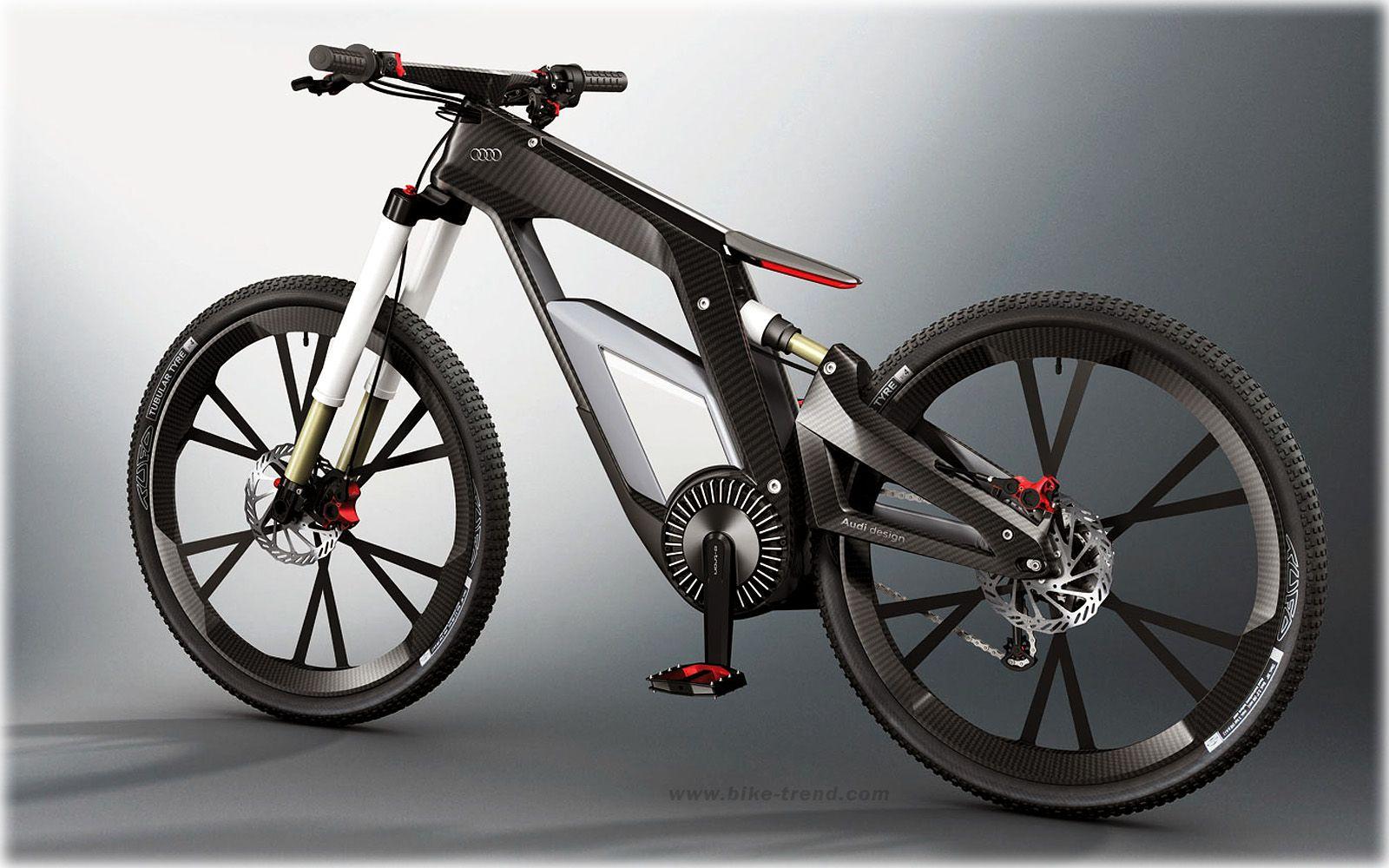 Audi E-Bike Price | Audi E-Bike Concept (2012) electrical bicycle ...