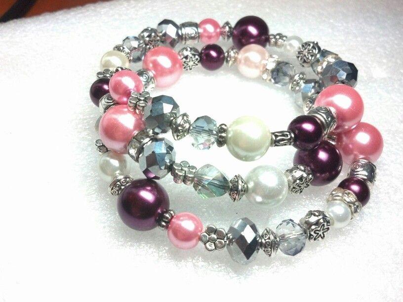 Beaded memory bracelet memorial bracelet diy bracelets