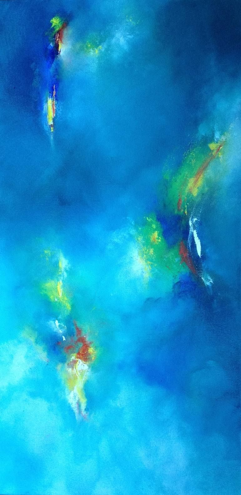 "Saatchi Art Artist Laura Viapiano; Painting, ""The Illusion of Light"""