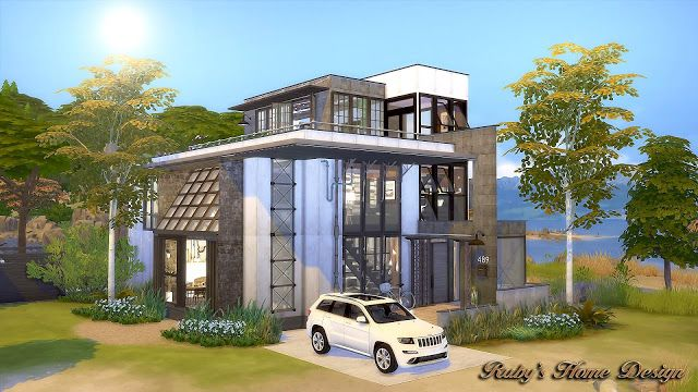 Sims 4 Cc'S - The Best: Mid Century Industrial Loft By Ruby Red