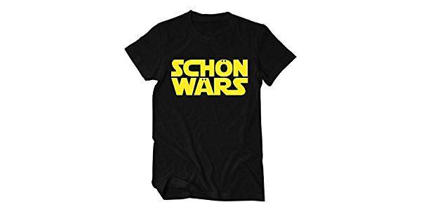 Schön Wärs Nerd Fun lustiges T-Shirt Herren Small Schwarz