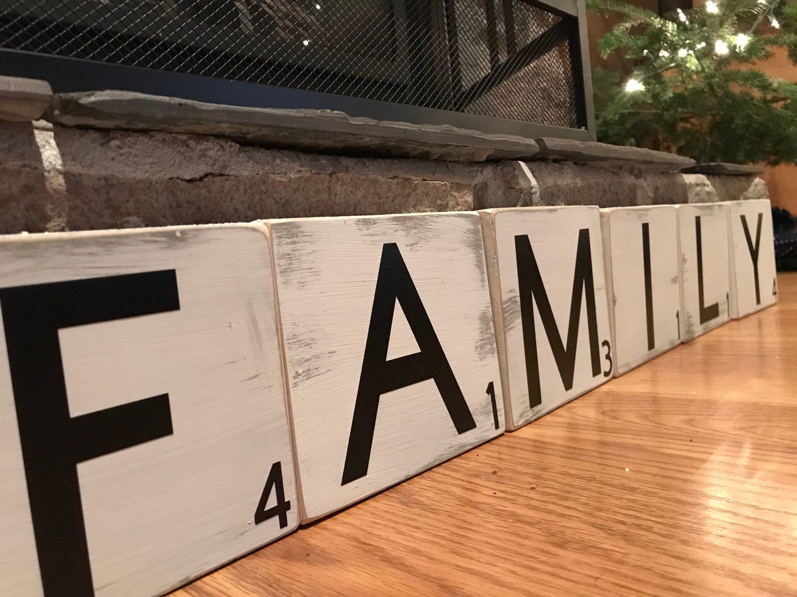 30+ Large wood alphabet tiles trends