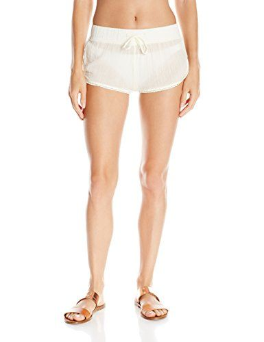 eb84707c76 Women's Board Shorts - Roxy Womens Soft Crochet 2 Beach Short ** Continue  to the product at the image link. (This is an Amazon affiliate link)