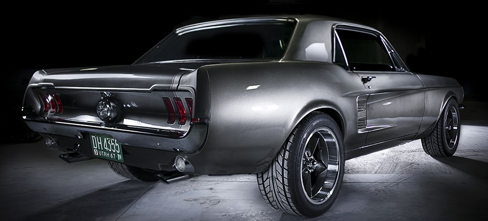 your ridiculously awesome 1967 ford mustang wallpaper is here